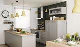 "Кухня ""Алегри"". Фасад – массив + шпон ясеня."