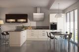 Фасад – массив ясеня + шпон. Стиль, функциональность, практичность