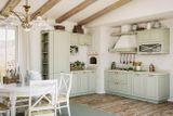 "Кухня ""Эри""- фасады выполнены из массива дуба."