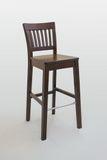 Стул «Мари3 барный» дуб, твёрдое сиденье 9500руб.