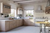 """Кухня """"Астра"""". Фасад: массив дуба или ясеня."""