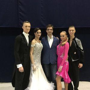 23-24 сентября в г. Москва проходили ежегодные Международные соревнования по танцевальному спорту «Огни Москвы»