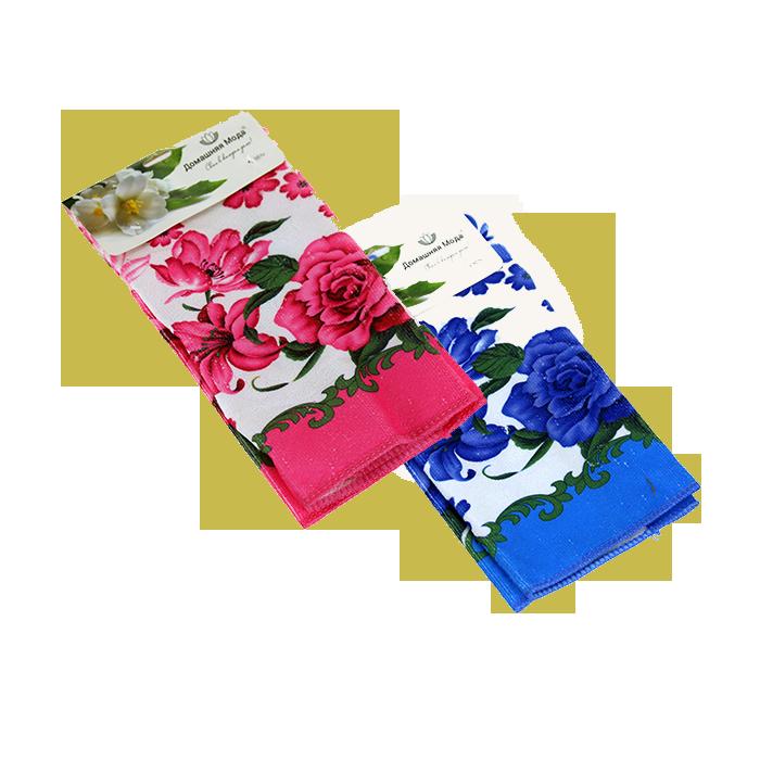 """Полотенце махровое 40*58 """"Цветы"""" в ассортименте"""