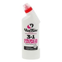"""Чистин средство санитарно-гигиеническое """"3в1"""" 750 мл Уничтожает микробы, грибок, неприятные запахи.Предназначено для чистки и антимикробной обработки раковин, ванн, душевых кабин, унитазов, профилактики засоров, канализационных стоков, мытья керамической плитки, кухонных плит, любых твердых моющихся напольных покрытий, настенных панелей, моющихся обоев, бытовой техники."""