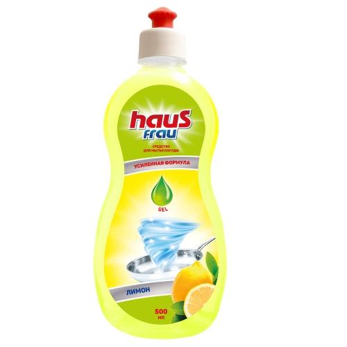 Haus Frau бальзам д/посуды Лимон 500мл (20)