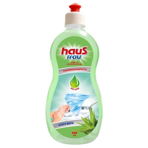 Haus Frau бальзам д/посуды Алое 500 мл (20)