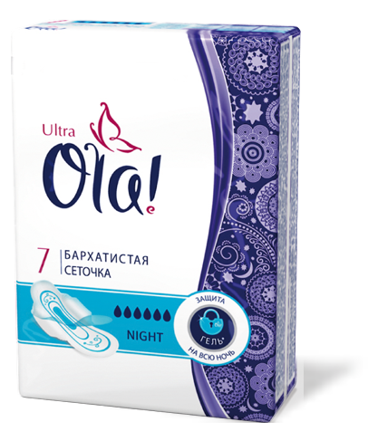 Ola Ultra Night  7 шт(24)
