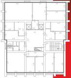 Типовая планировка этажа в 9-этажном корпусе