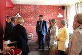 Участники «круглого стола» в семейной кофейне