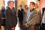 Александр Худилайнен беседует с предпринимателем Дмитрием Лавровым