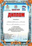 Диплом за 2 место в смотре-конкурсе на лучшую организацию физкультурно-спортивной работы среди общеобразовательных учреждений Нижегородской области