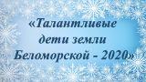 """""""Талантливые дети земли Беломорской"""""""