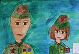 Солдаты Победы (Алиса Коптюхова, 2 место)