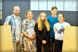 Участники конкурса с членами жюри