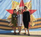 Лилиана Боровлева, Ульяна Вольская и Юлия Анатольевна Магомедова в г.Медвежьегорске
