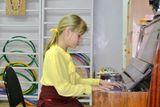 Играет Брусницына Аня