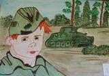 Сын полка - юный герой (Блохина Милана, 3 место)