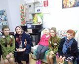 Лилиана Боровлева и Ульяна Вольская в «Центре социального обслуживания населения Пудожского района»