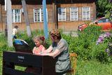 В ансамбле с преподавателем Г.Н.Хариной играет Тишкова Софья
