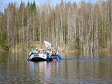 Сплавы в Карелии - отдых с детьми. Река Шуя