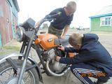 Ремонт мотоцикла
