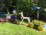 Территория детского сада.
