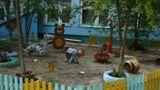 """На территории детского сада. """"Мини зоопарк"""""""