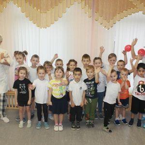 В детском саду пос. Турдеевск  прошло мероприятие для детей здоровьесберегающей направленности