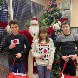 Новогодние подарки от губернатора Мурманской области Андрея Чибиса.