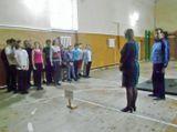 С поздравлением и пожеланиями участникам соревнований обратилась директор школы О.В. Коротицкая