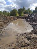 На средства межбюджетного трансферта продолжаются работы по капитальному ремонту перехода через реки Локша и Кистега