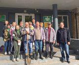 В рамках акции «Зелёная Россия» в Заволжске высажено 100 сосенок