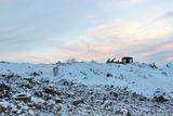 На полигоне ТБО проводятся профилактические работы в целях недопущения нового очага задымления