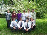 Выпускники 2007 с учителями