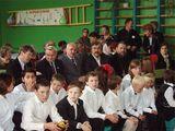 Почетные гости на юбилее школы
