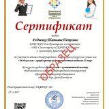 Образец Сертификата «Мой коллега – яркий  пример компетентного педагога 21 века»