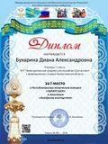 Диплом участнику конкурса