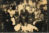 Школа колхозной молодёжи (1937 г. 7 класс) В центре: учитель Никулин Тихон Борисович