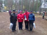 Ветераны Пряжинского спорта