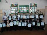 Все победители  и призёры школьного  этапа  предметных олимпиад получили грамоты.