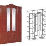 Шкаф 4-хстворчатый ШхВхГ: 1820х2360х600