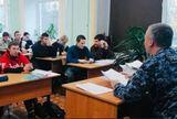 Встреча студентов  с представителем вневедомственной охраны Росгвардии
