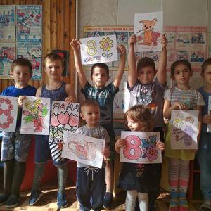 """Выставка детских рисунков """"Для мамочки моей"""""""