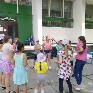Детская игровая программа «Веселое лето»