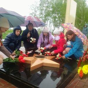 В Новознаменском СК прошли праздничные мероприятия, посвящённые Дню Победы.