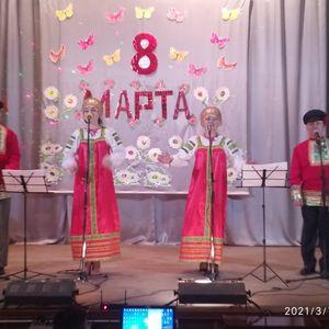 """Праздничный концерт """"Для милых нежных, дорогих"""""""