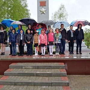 Княжевский СДК принял участие в митинге посвященному Дню Победы