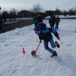 Уличная игровая программа «Зима!Солнце!Снег!»