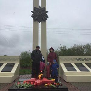 Заведующий Бороздинским СК организовала и провела для жителей д. Борозда праздничное мероприятие, посвящённое Дню Победы.