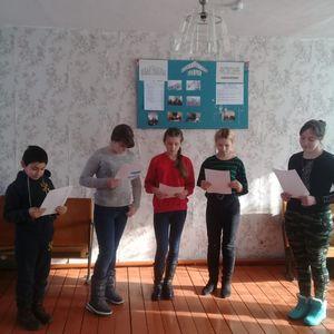 Занятия детского вокального кружка в Алексеевском СДК